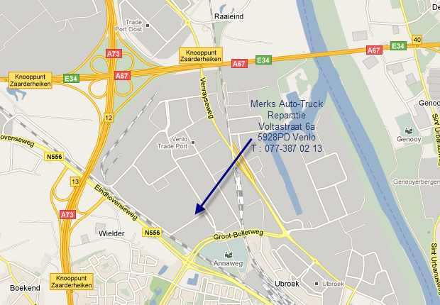 Merks Atr, Voltastraat 6a, 5928PD Venlo, Tel: 077-387 02 13